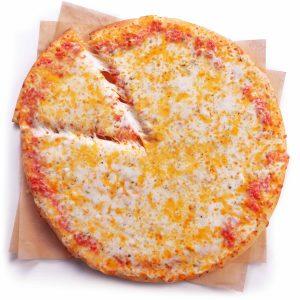 7 Eleven Triple Cheese pizzas