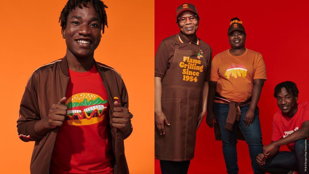 Burger King New Crew Member Uniforms