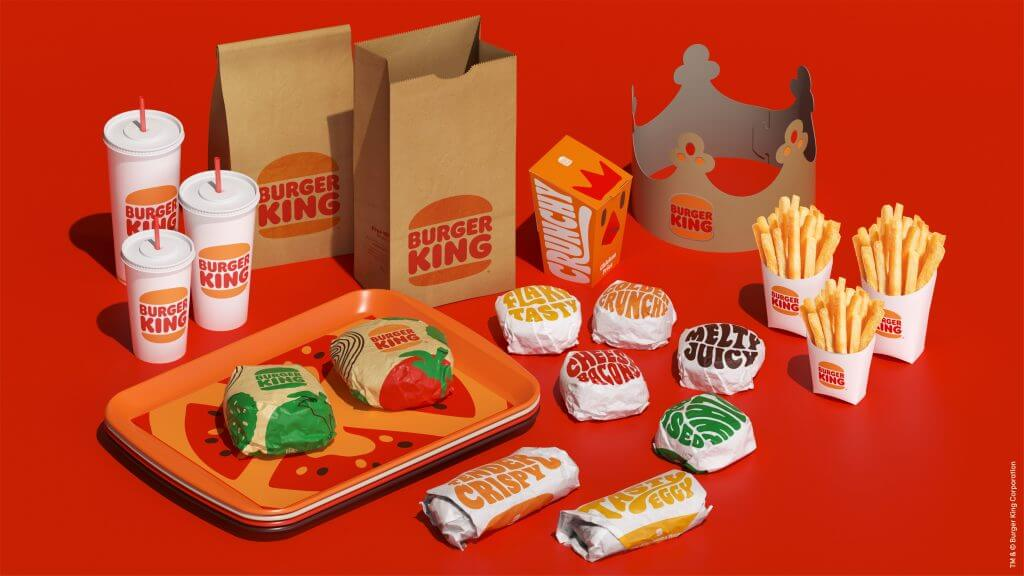 Burger King New Packaging