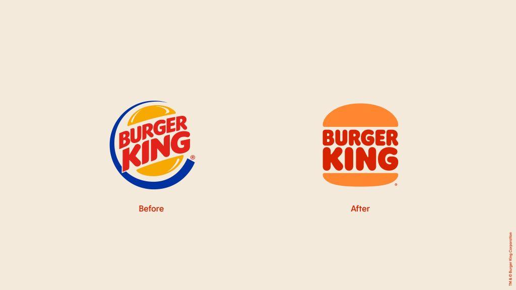 Burger King's Rebranded Logo