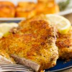 Copycat Longhorn Parmesan Crusted Chicken/Steak Recipe