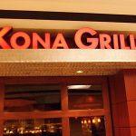 Kona Grill Menu Prices
