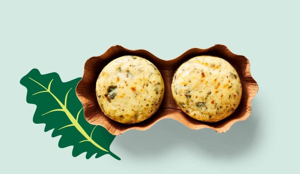 Starbucks Kale and Mushroom Egg Bites