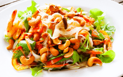 Copycat Panera Spicy Thai Salad With Chicken