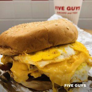 five guys breakfast review