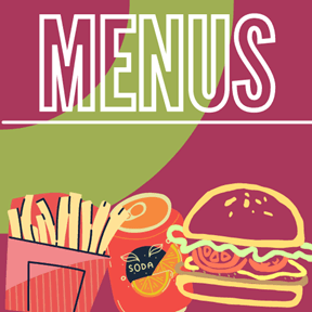 fast food meus