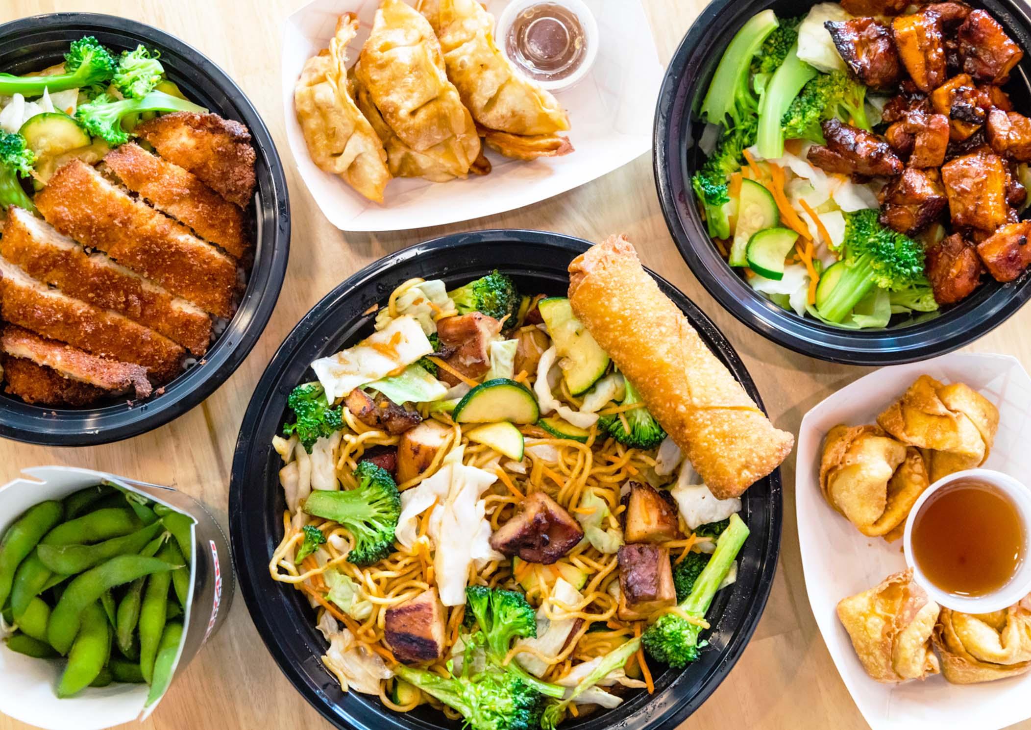 teriyaki madness menu