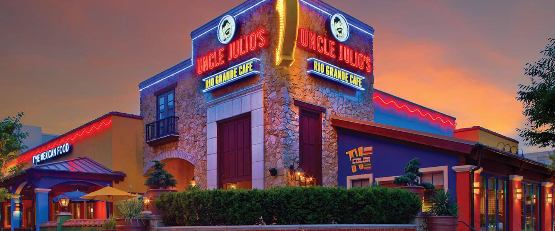 uncle julios menu